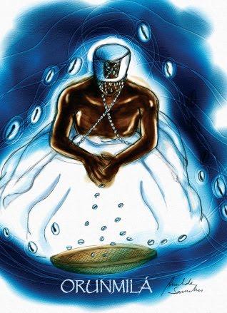 Conto Africano: Orunmilá recebe de Obatalá o cargo de babalaô